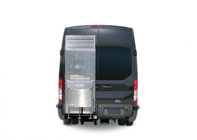 cargo van with side lift gate