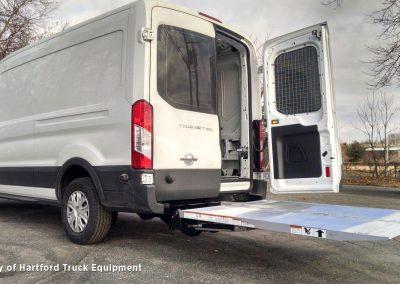 cargo van with lift gate