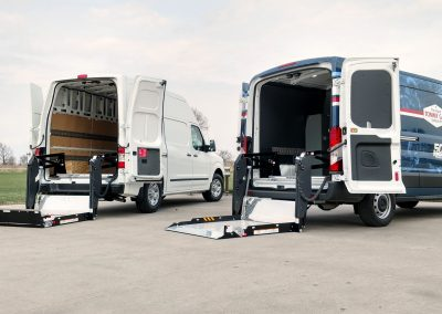 tommy gate vans with lift gates