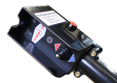 tommy gate hydraulic lift button